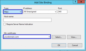 آموزش نصب SSL در Microsoft IIS 8 و 8.5